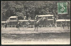 AK Saumur, Carrousel, Les Sauteurs