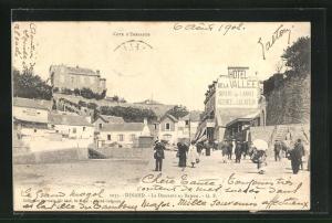 AK Dinard, La Descente au Bateau, Grand Cafe-Restaurant Segouin & Hotel de la Vallee