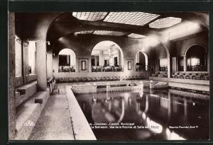 AK Dinard, Casino Municipal, Le Balneum, Vue de la Piscine et Salle des Fetes