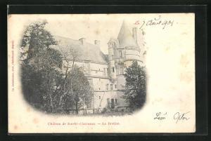 AK Le Donjon, Chateau de Scorbe-Clairvaux