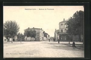 AK Castelsarrasin, Avenue de Toulouse