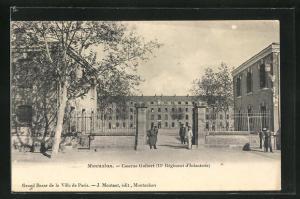 AK Montauban, Caserne Guibert, 11e Regiment d`Infanterie