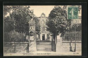 AK Montauban, Entree du Lycee Ingres
