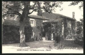 AK Iteuil, Le Moulin de Lizelier, l`Entree