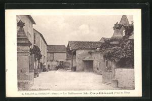 AK Salles-en-Toulon, Les Etablissements M. Couillaud