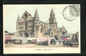 AK Poitiers, Eglise N. -D.