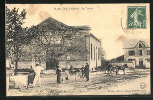 AK St-Sauvant, Le Temple