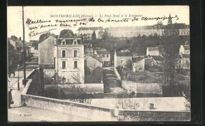 AK Montmorillon, Le Pont-Neuf et le Seminaire