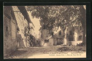 AK Vaison, Haute-Ville, Place du Vieux Marche