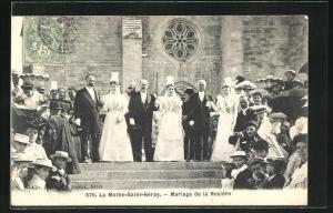 AK La Mothe-Saint-Heray, Mariage de la Rosiere