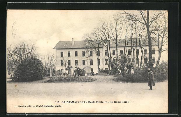 AK Saint-Maixent, Ecole Militaire, Le Rond Point 0