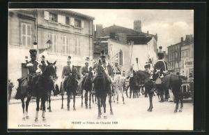 AK Niort, Fetes de Charite 1909