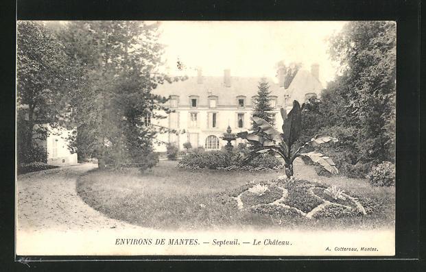 AK Septeuil, Le Chateau, Ansicht vom Schloss 0