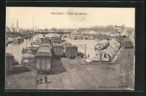 AK Roanne, Port du Canal
