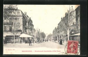 AK Narbonne, Boulevard Gambetta