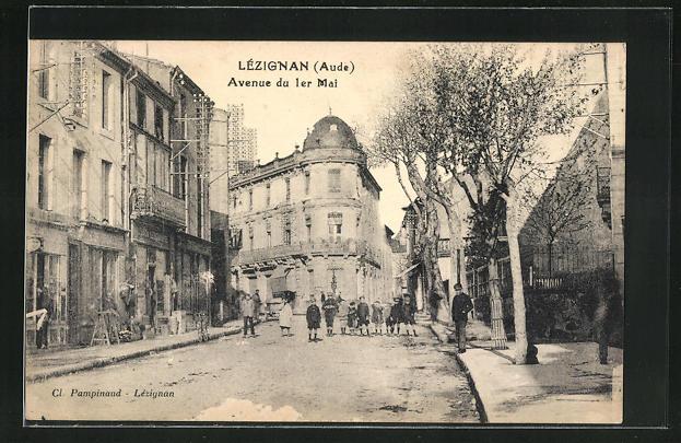 AK Lezignan, Avenue du 1er Mai 0