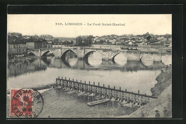 AK Limoges, Le Pont Saint-Martial 0