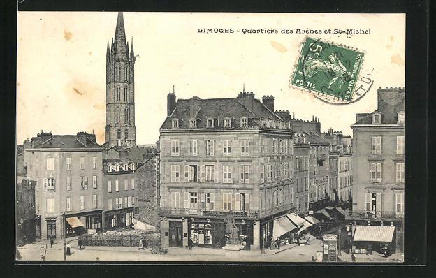 AK Limoges, Quartiers des Arenes et St-Michel 0