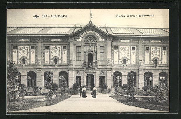 AK Limoges, Musee Adrien-Dubouché 0