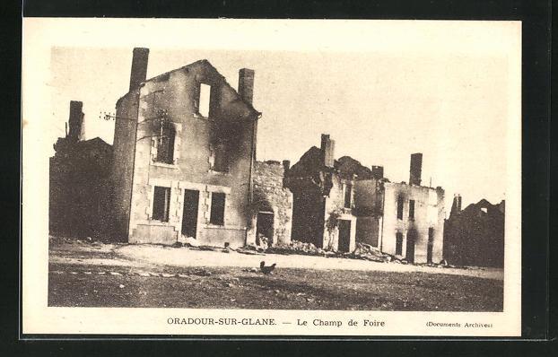 AK Oradour-sur-Glane, Le Champ de Foire 0