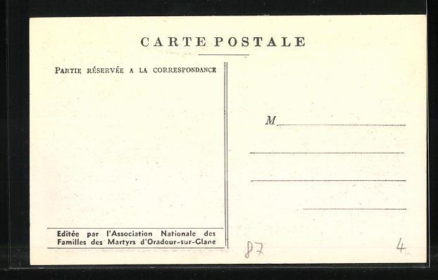 AK Oradour-sur-Glane, Le Champ de Foire 1