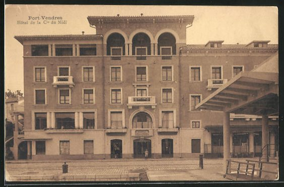 AK Port Vendres, Hotel de la Cie du Midi 0