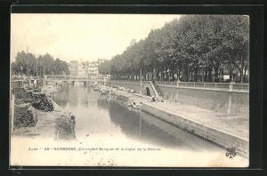 AK Narbonne, Cours des Barques et le Canal de la Robine