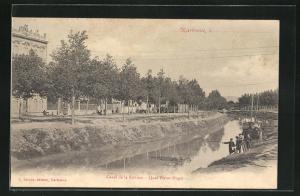 AK Narbonne, Canal de la Robine, Quai Victor Hugo