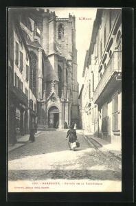 AK Narbonne, Entree de la Cathedrale