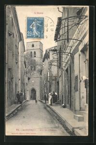 AK Montolieu, Rue de l`Eglise