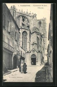 AK Narbonne, Cathedrale St-Just, l`Entree