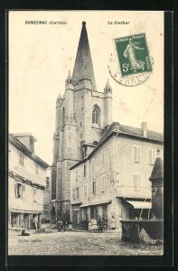 AK Donzenac, Le Clocher
