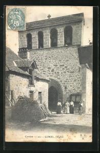 AK Gimel, L`Eglise