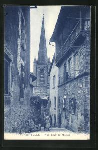 AK Tulle, Rue Tour de Maisse