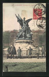 AK St-Etienne, Monument des Combattants