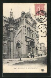 AK St-Etienne, Eglise Sainte-Marie