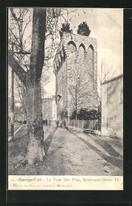 AK Montpellier, La Tour des Pins, Boulevard Henri IV.