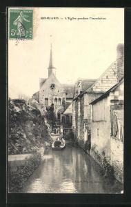 AK Behuard, L'Eglise pendant l'inondation