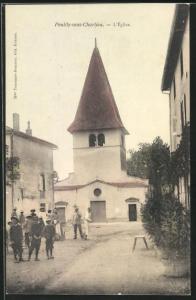 AK Pouilly-sous-Charlieu, L'Eglise