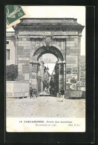 AK Carcassonne, Porte des Jacobins