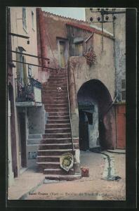 AK Saint-Tropez, Escalier du Vieux Marche