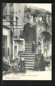 AK St-Tropez, Escalier du Marche