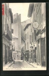 AK Carpentras, Rue de la Porte d'Orange