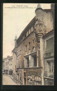 AK Charlieu, Rue Nationale, Maison des Anglais