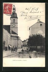 AK Port-sur-Saone, l'Eglise