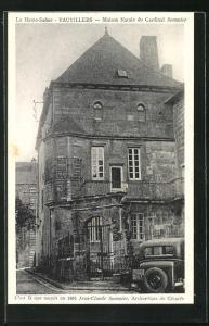 AK Vauvillers, Maison Natale du Cardinal Sommier