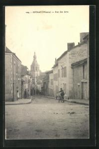 AK Civray, Rue des Arts