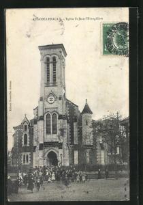 AK Chatellerault, Eglise St-Jean-l'Evangeliste