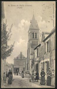 AK St-Pierre-de-Maille, L'Eglise
