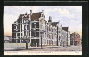 AK Wellington, Railway Offices